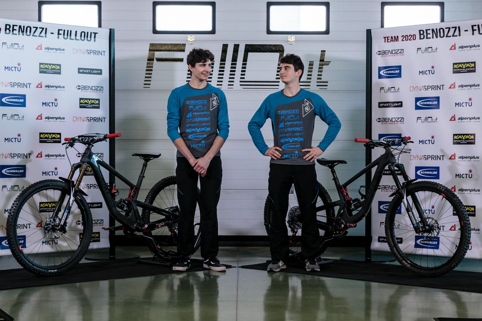 Team Benozzi-Fullout - atleti