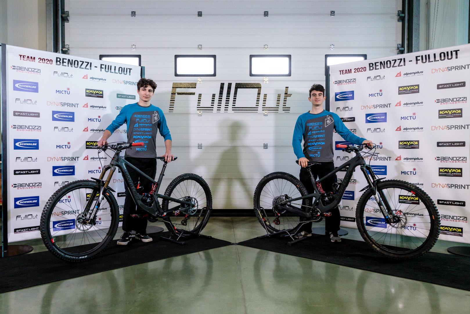 Team Benozzi-Fullout - Matteo Saccon e Mirco Vendemmia