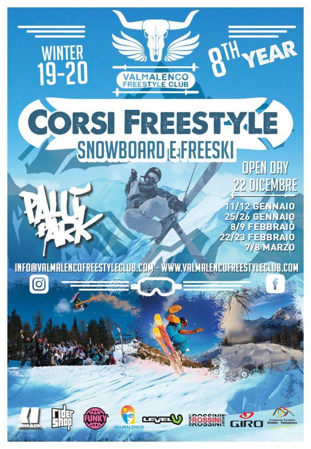 Iscrizioni ufficialmente aperte per la nuova stagione di corsi freestyle con Valmalenco Freestyle Club
