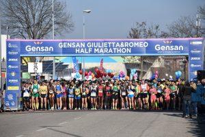 Un'immagine dell'edizione 2019 della Gensan Giulietta&Romeo Half Marathon