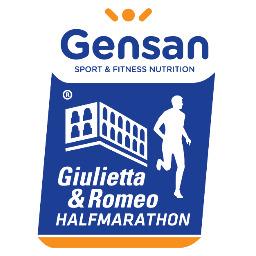 Il logo della Gensan Giulietta&Romeo Half Marathon che conferma l'impegno di Gensan come title sponsor
