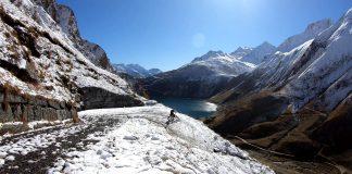 Snow Biking - discesa