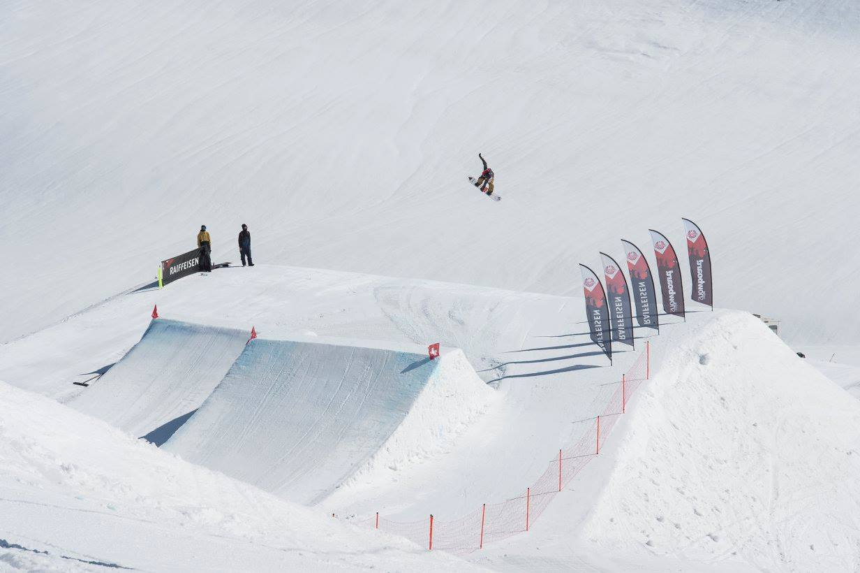 Salto Alessandro Lotorto Swiss Champs Slopestyle 2018
