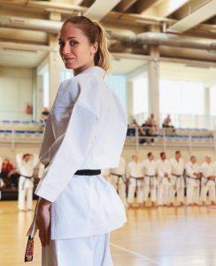 La karateka Vanessa Villa ambassador di NIKE X SCHOOL