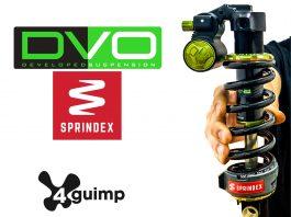 Ammortizzatore DVO Jade X con molla Sprindex, due grandi novità 4guimp per il 2020