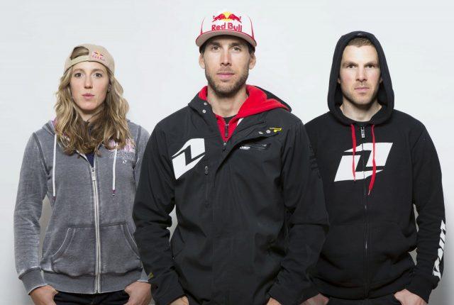 I fratelli Atherton, grandi atleti ma anche imprenditori con il nuovo marchio Atherton Bikes: da sinistra, Rachel, Gee e Dan