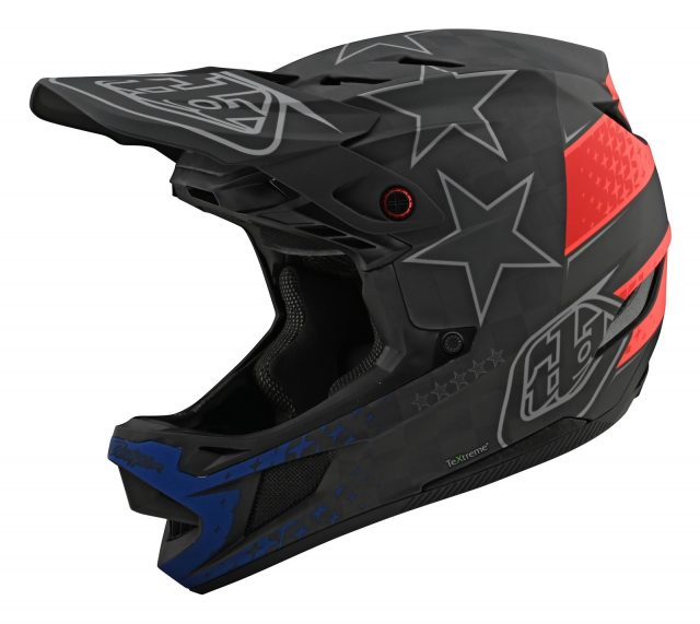 TLD D4 Carbon Freedom 2.0 Black/Red