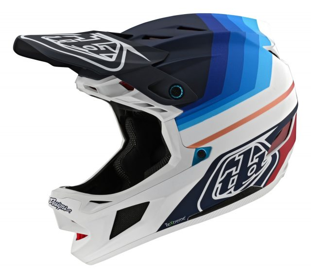 TLD D4 Carbon Mirage Navy/White