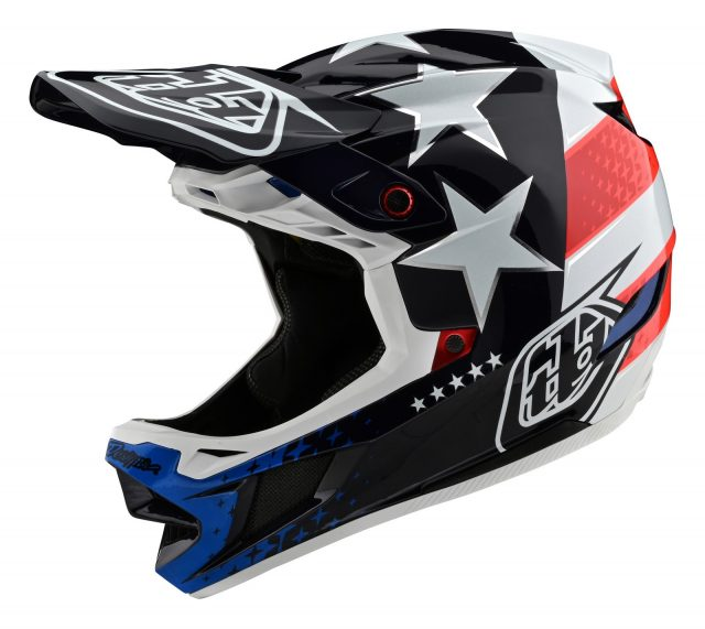 TLD D4 Composite Freedom 2.0 Blue/Red/White