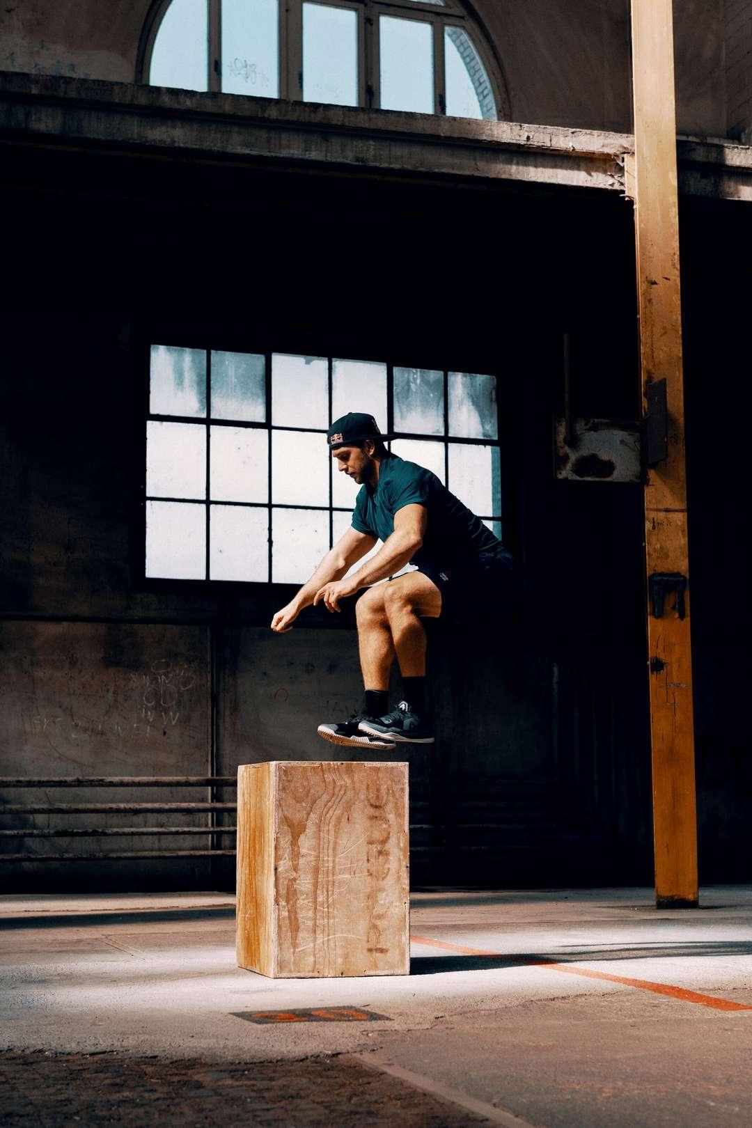 Un tipico allenamento di Pliometria - foto: Red Bull Content Pool