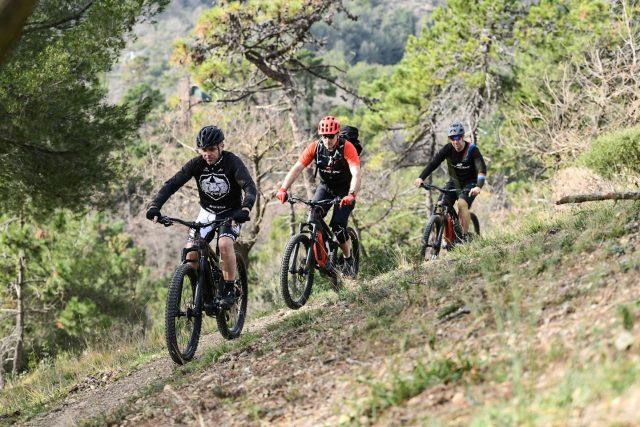 Capirex sui trail con Livio Suppo e Stefano Migliorini