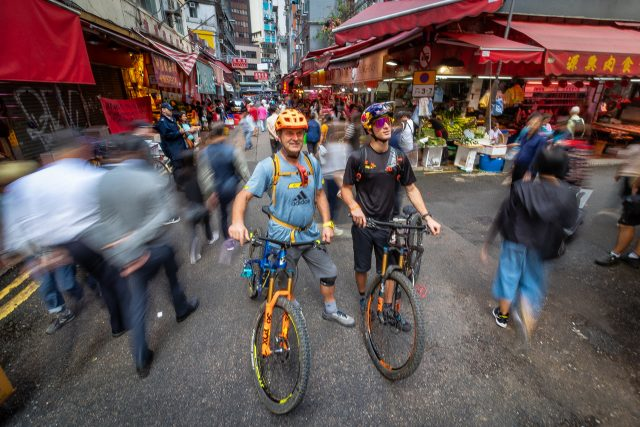 TransHongKong - Hans Rey & Martin Maes - urban