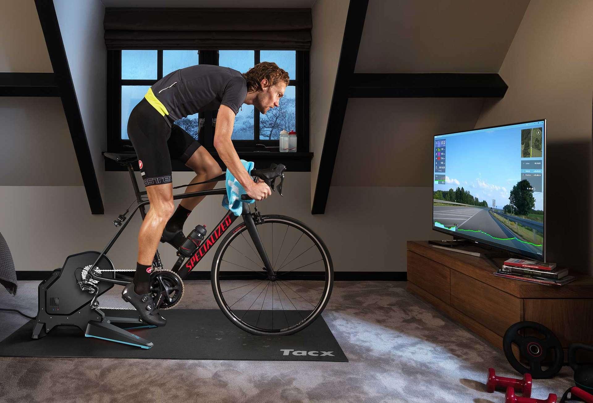 Tacx Flux 2 Smart, un sistema evoluto per l'allenamento domestico sui rulli
