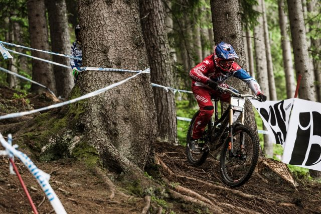 Aaron Gwin - UCI Mountain Bike World Cup, Leogang, Austria // Bartek Wolinski/Red Bull Content Pool