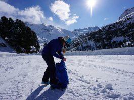 zaino sci alpinismo