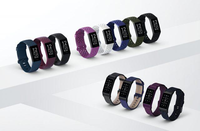 La collezione completa del nuovo Fitbit Charge 4