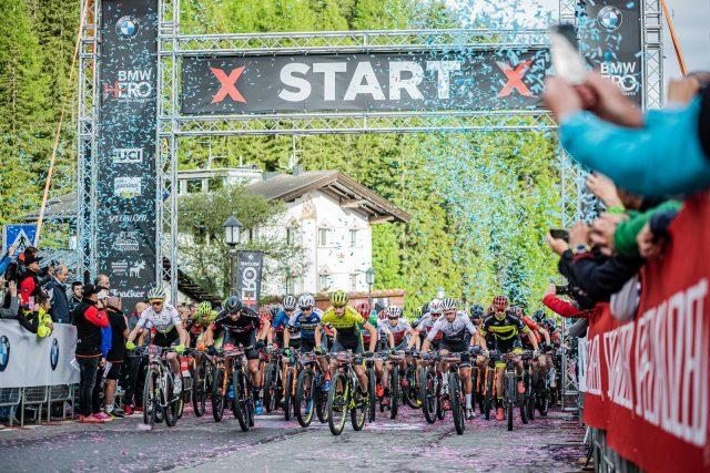 Hero Sudtirol Dolomites 2019 - start