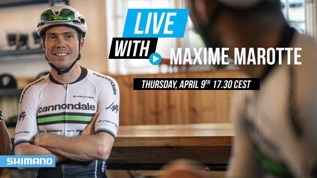 Maxime Marotte - Shimano Live