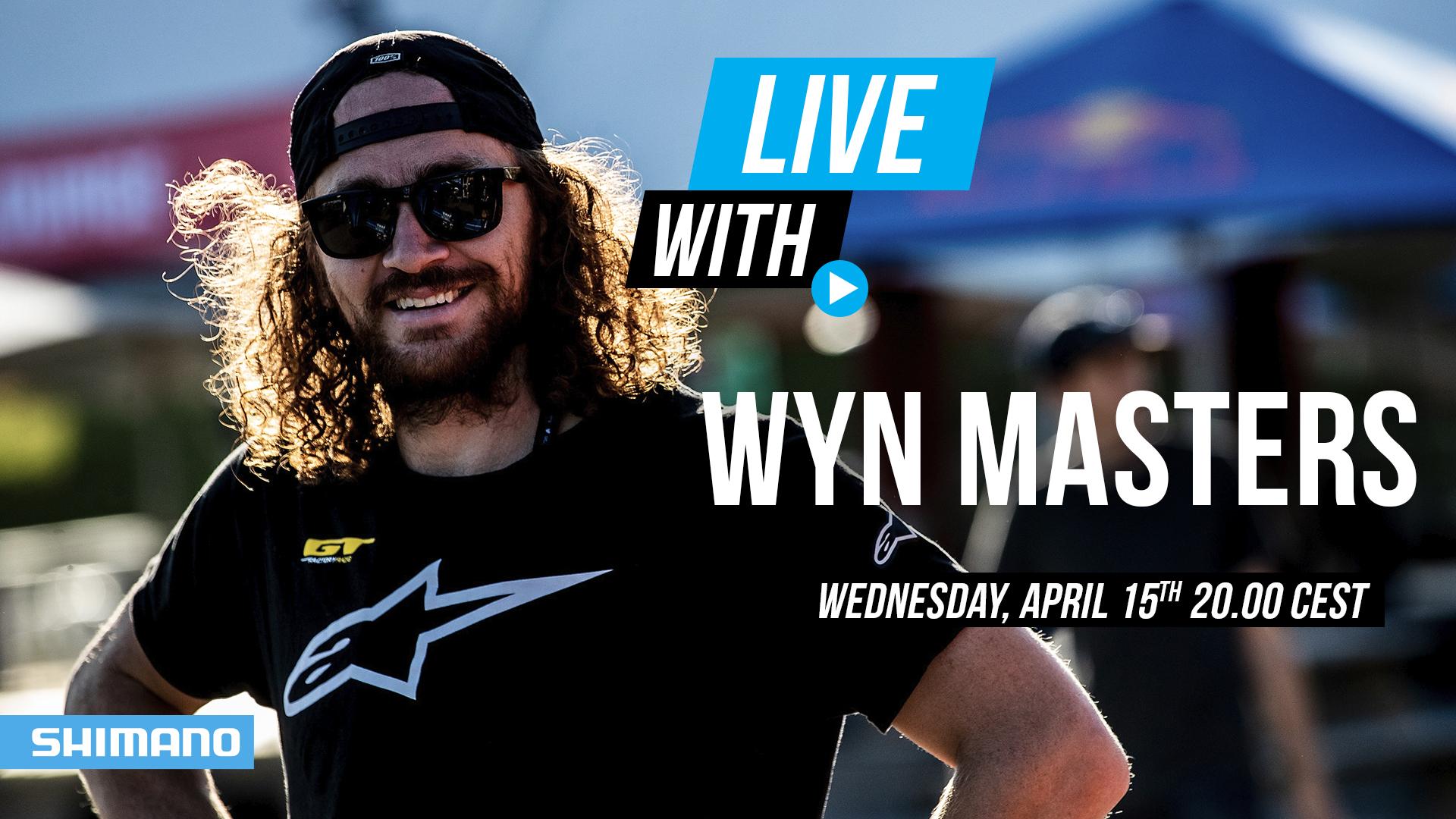 Wyn Masters - Shimano Facebook Live