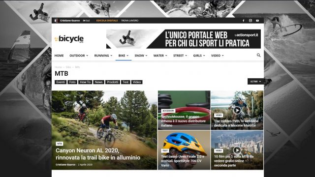 4bicycle new web site