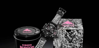 burton orologi collaborazione g shock