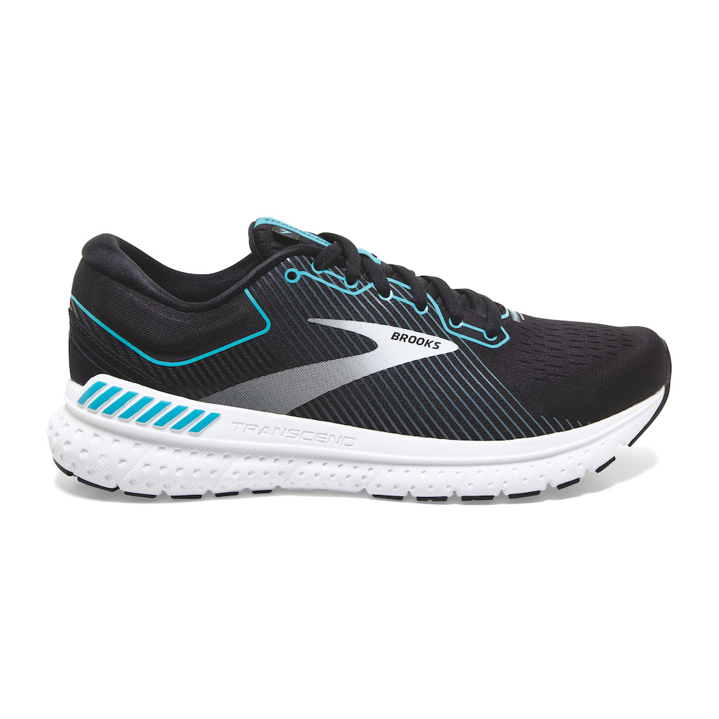 Brooks Transcend 7 con sistema Guiderails