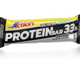 Barretta energeica Protein bar 33% di ProAction