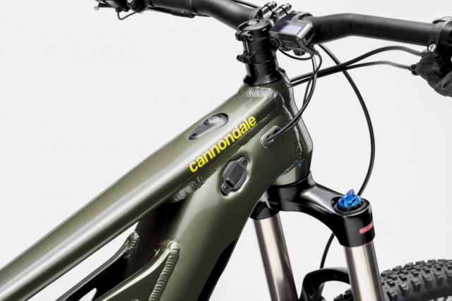 Cannondale Moterra Neo 5+ - top tube