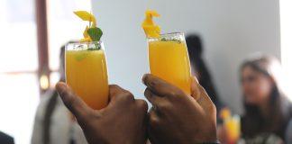 Vitamina C un prezioso alleato: nella foto di Angelo Moleele due fantastiche spremute d'Arancia