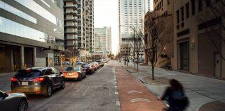 Trek Bikes - bike lane