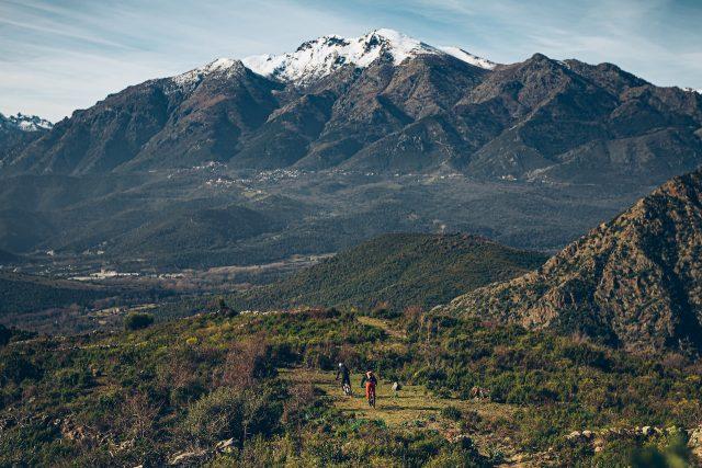 A prestu Corsica - Corte panorama