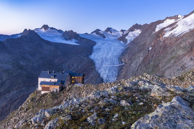 Ramolhaus und Gurgler Bergwelt