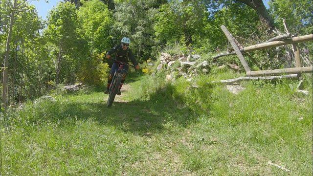 Camasca Trail - discesa