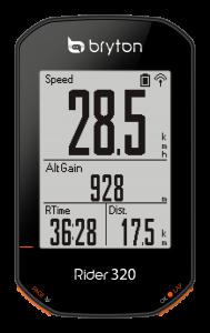 rider 320 bryton
