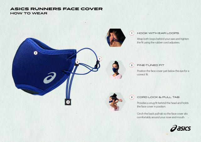 ASICS RUNNERS FACE COVER è perfetta per correre sicuri!