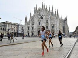 SALOMON RUNNING MILANO del 2019 con lo sfondo più bello di Milano, il Duomo!