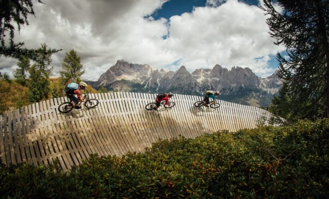 Dolomiti video - wallride