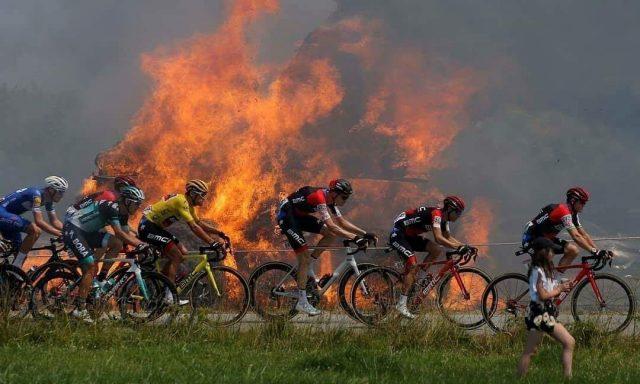 Ciclismo cosa si cela dietro la ripartenza