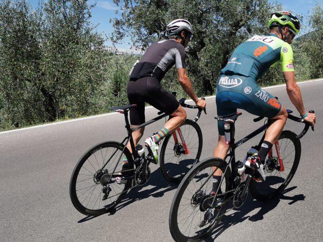 Giovanni Visconti abbiamo pedalato con lui