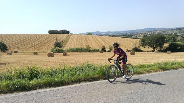 Romagna e il Blasco nazionale in bicicletta