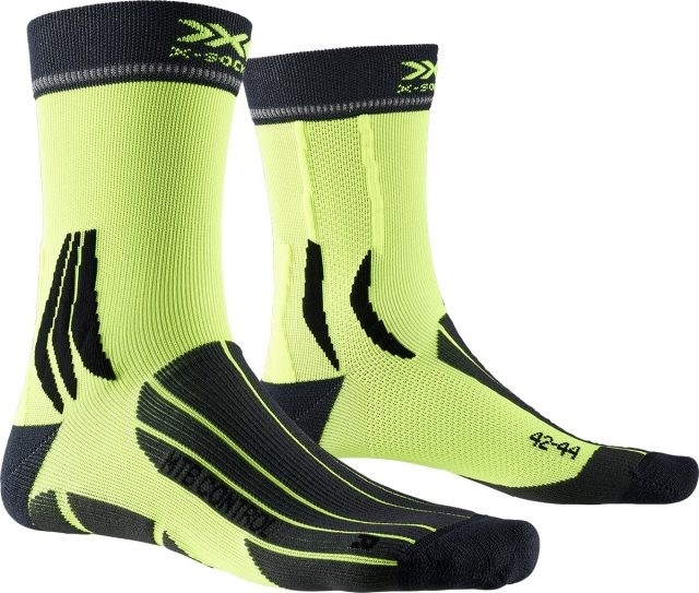 X-Socks MTB Control charcoal phynton yellow
