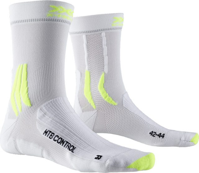 X-Socks MTB Control artic white phynton yellow