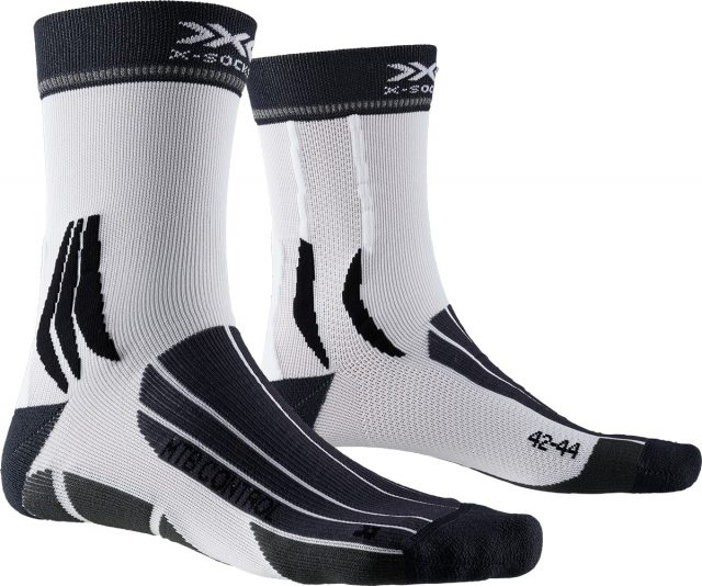 X-Socks MTB Control charcoal artic white