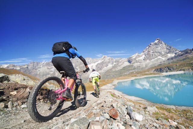 Valtournenche MTB - lago