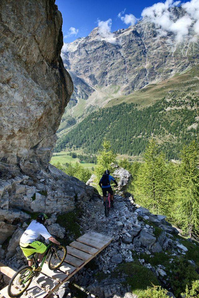 Valtournenche MTB -rock & wood