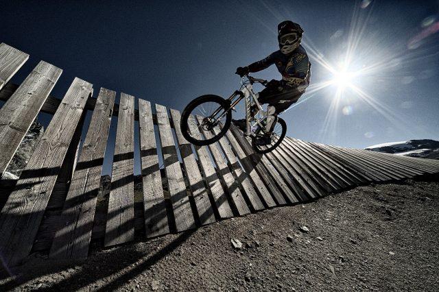Valtournenche MTB - wall ride