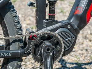 Brinke X5R+ Race test - motore