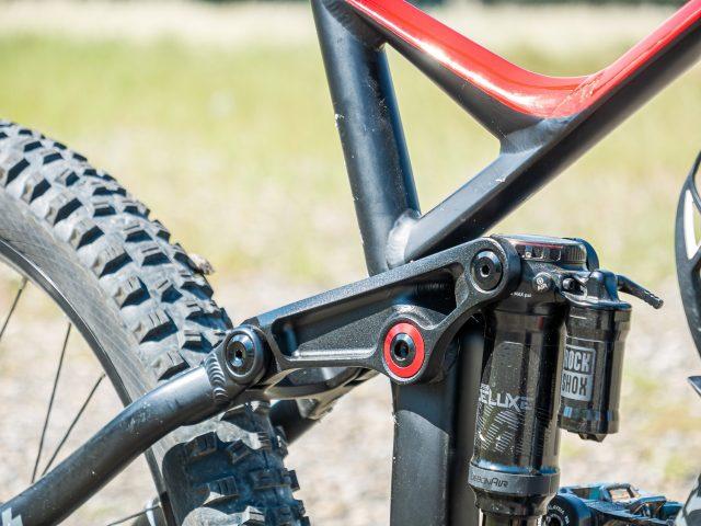 Brinke X5R+ Race test - rocker arm