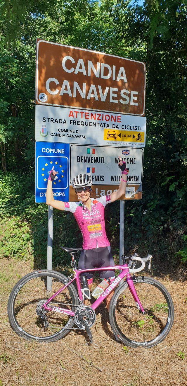 Paola Gianotti porta in giro la sicurezza