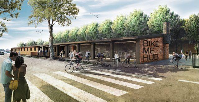 Bike me Hub - rendering 1